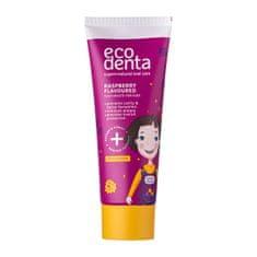 Ecodenta Pasta do zębów o smaku malinowym dla dzieci Super + Natura l Care jamy ustnej o smaku malinowym (Too