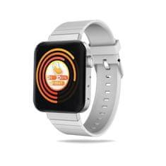 Hellowatch Mi5 Smart náramok s meraním pulzu- krvného tlaku- kyslíka v krvi- s SOS tlačidlom Biela