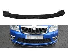 Maxton Design spoiler pod přední nárazník ver.1 pro Škoda Octavia RS Facelift Mk2, plast ABS bez povrchové úpravy