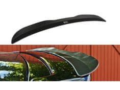 Maxton Design prodloužení spoileru pro Škoda Fabia RS Mk1, černý lesklý plast ABS