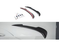 Maxton Design prodloužení spoileru pro Škoda Octavia Mk4, černý lesklý plast ABS