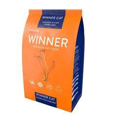 WINNER PREMIUM WINNER Cat Adult STERILISED Chicken & Fish 2kg prémiové krmivo pre mačky - kura a ryba