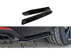 Maxton Design boční difuzory pod zadní nárazník pro Škoda Octavia RS Mk3, plast ABS bez povrchové úpravy