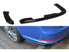 Maxton Design boční difuzory pod zadní nárazník pro Škoda Octavia RS Facelift Mk2, černý lesklý plast ABS
