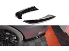 Maxton Design boční difuzory pod zadní nárazník pro Mercedes třída C W 205/AMG-Line, Carbon-Look