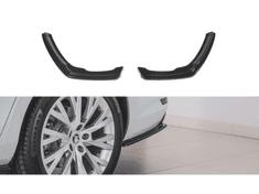 Maxton Design boční difuzory pod zadní nárazník pro Škoda Superb Mk3 FL, černý lesklý plast ABS
