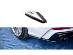 Maxton Design boční difuzory pod zadní nárazník pro Audi A6 S6/RS6/A6 S-Line/C8, černý lesklý plast ABS