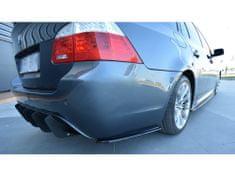 Maxton Design boční difuzory pod zadní nárazník pro BMW Řada 5 E60, E61, černý lesklý plast ABS