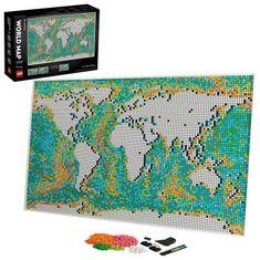 LEGO Art 31203 Zemljevid sveta