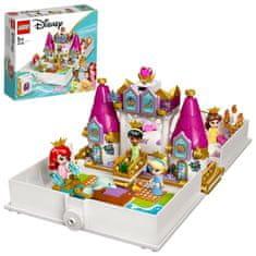 LEGO Disney Princess 43193 Ariel, Kráska, PopelkaaTianaa jejich pohádková kniha dobrodružství