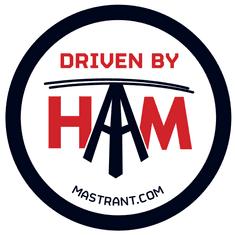 Mastrant  Sticker Driven By Ham
