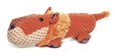 RECORD Plyšová pískacia hračka pre psa FAT BOYS lev