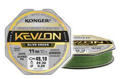 Konger Pletenka KEVLON X4 OLIVE GREEN 10m| 0,06mm/4,0kg