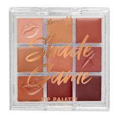 Barry M Paletka kompaktních rtěnek Shade Game (Lip Palette) 0,42 g