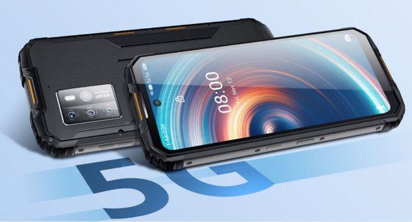 Oukitel WP10 odolný telefon IP69K IP68 vojenský standard odolnosti MIL-STD-810G vysoká kapacita baterie dlouhá výdrž duální fotoaparát NFC čtečka obličeje čtečka otisku prstů vysoce odolný telefon chytrý odolný telefon odolňák nejnovější Bluetooth reverzní dobíjení Gorilla Glass 3 bezrámečkový displej FHD+ 16 Mpx přední  kamera ovládání v rukavicích navigační systémy velké úložiště vojenská odolnost