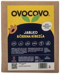 OVOCOVO Jablko-Čierna ríbezľa 100% prírodná ovocná šťava BAG in Box 3l