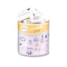 Aladine Razítka Stampo Scrap Svatba 43 ks