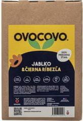 OVOCOVO Jablko-Čierna ríbezľa 100% prírodná ovocná šťava BAG in Box 5l