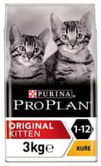 Purina Pro Plan hrana za mlade mačke, piščanec, 3 kg
