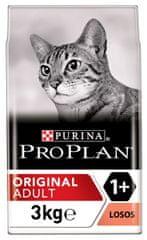 Purina Pro Plan hrana za odrasle mačke, losos, 3 kg