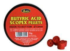 Lastia Butyric acid scopex method pellets hook to bottom,13mm