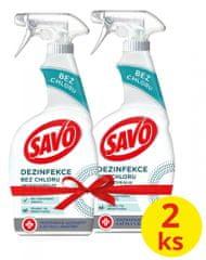 Savo Antibakteriális spray klór nélkül 2x 700ml