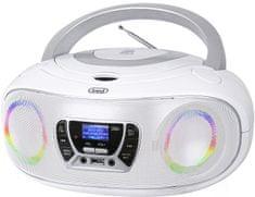 Trevi CMP 583 Boombox CD predvajalnik, bel