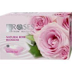 ELLEMARE Tuhé mydlo na ruky Roses ružové ( Beauty Bar) 75 g