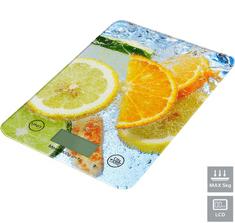 Omega OBSKWL kuhinjska tehtnica, z LCD prikazovalnikom, do 5 kg