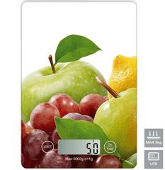 Omega OBSKWA kuhinjska tehtnica, z LCD prikazovalnikom, do 5 kg