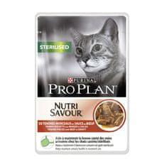 Purina Pro Plan mokra hrana za sterilizirane mačke, govedina, 24x85g