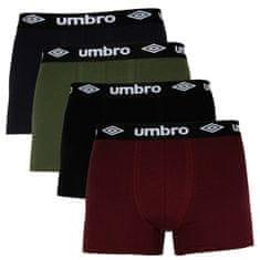 Umbro 4PACK pánské boxerky vícebarevné (UMUM0316)