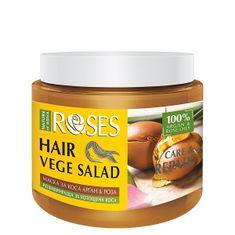 ELLEMARE Maska pre suché a poškodené vlasy Roses vege Salad ( Hair Mask) 500 ml