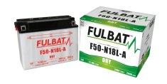 Fulbat baterie 12V, Y50-N18L-A, 20Ah, 260A, konvenční 205x90x162, FULBAT (vč. balení elektrolytu)