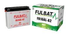 Fulbat baterie 12V, YB16AL-A2, 16,8Ah, 175A, konvenční 207x71,5x164 FULBAT (vč. balení elektrolytu)