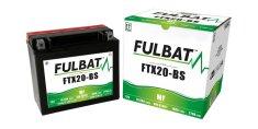 Fulbat baterie 12V, YTX20-BS, 18Ah, 270A, bezúdržbová MF AGM 175x87x155 FULBAT (vč. balení elektrolytu)