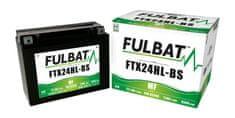 Fulbat baterie 12V, YTX24HL-BS, 22,1Ah, 350A, bezúdržbová MF AGM 205x87x161, FULBAT (vč. balení elektrolytu)