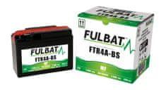 Fulbat baterie 12V, YTR4A-BS, 2,4Ah, 35A, bezúdržbová MF AGM 114x49x86, FULBAT (vč. balení elektrolytu)