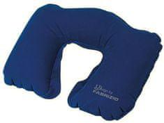 FABRIZIO Cestovný vankúšik Worldpack Blue