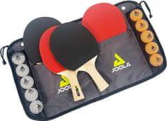 Joola JOOLA Ping pong sada - 4x pálka na stolní tenis, 10 míčků, pouzdro