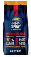 Primal Spirit Dog 70% Wanderlust, 12 kg