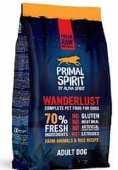 Primal Spirit Dog 70% Wanderlust, 1 kg