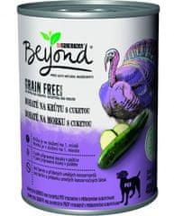 Purina Beyond Grain Free hrana za pse, koščki v puranji pašteti z bučko, 12x 400 g