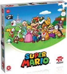 Winning Moves Puzzle Mario i przyjaciele 500 elementów