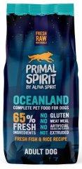 Primal Spirit Dog 65% Oceanland, 12 kg