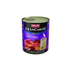 Animonda mokra karma dla psa GranCarno pur Senior - cielęcina + jagnięcina - 6 x 400g