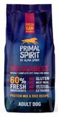 Primal Spirit Dog 60% Wilderness Food, 12 kg