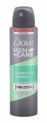 Dove 150ml men + care sensitive shield 48h, antiperspirant