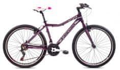 Capriolo MTB Attack žensko kolo, W 26'/18AL, vijolično-belo