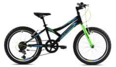 Capriolo MTB Diavolo 200 otroško kolo, 20'/6HT, črno-zeleno